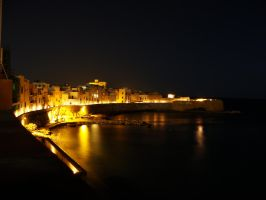Trapani by night by klapouch