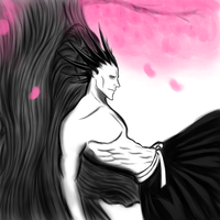 kenpachi resting by Dread555