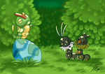 PKMNation - Bug Investigators by TamarinFrog