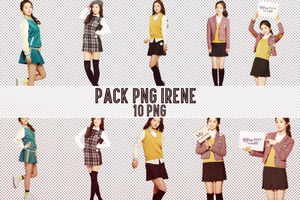 Pack PNG #119: Red Velvet's Irene by jimikwon2518