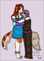 Boxcar and Kaycee by silverwing
