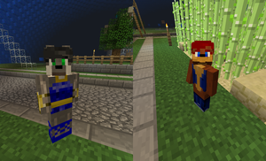 Minecraft: Sally and Lupe by Gradendine