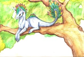Dragon critter by silverwolf-song