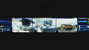 Space Style YT Banner by ItsSync
