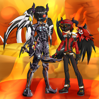 elsword forums-commission for TendiousX/NeoCrosser by fuumika