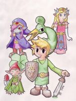 The Minish Cap by phillie-chan