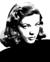 Lauren Bacall - Vectored 4 by musicgal3