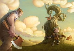Jack and the Beanstalk by Bpacker