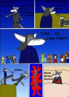 THIS IS CAKE-FIGHT by Omega-Warior