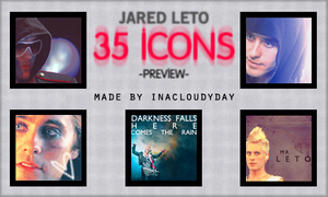 Jared Leto - 35 icons by inacloudyday