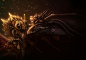 FlightRising - Well, ain't you pretty today? by BloodhoundOmega