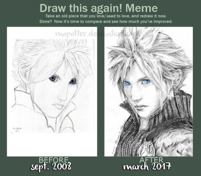 Draw This Again: Cloud by MoPotter