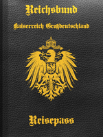 Passport for the German Empire by Arminius1871