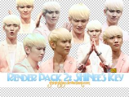 Render pack #2: SHINee's Key by shiningday