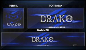 Rebrand Blue Style 2015 by DraKo With Style by DraKoDesign