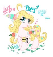 Luz  as a pony by Rolly-Chan