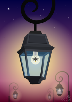 Impossible street lamp by ankrie