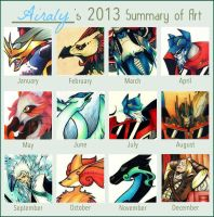 2013 Summary of Art! by Airaly