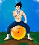 Vegeta ~ Sexy Hunting (Commission) by OnlyIfItsFluffy
