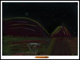 Martian Landing Pad by loungejack