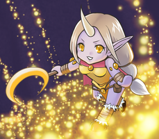 Soraka the starchild by Refel-Salala