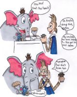 BtS: Horton and friends by KessieLou