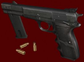Browning Hi-Power by Lusaen