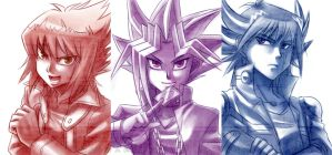 I never draw YGO by Lo-wah