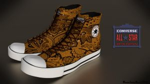 Converse All Star Batik Edition by Noval-Vengeance