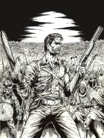 ash williams by mrfussion