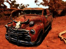 Old Rusty Chevy by rockyjob