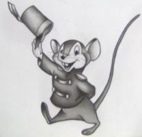 Timothy Q. Mouse - Dumbo by MartijnPipoo