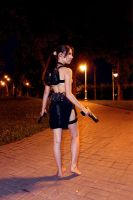 Tomb Raider Lara Croft ripped dress - back by TanyaCroft