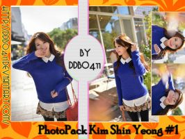 PhotoPack Kim Shin Yeong #1 by DDBo411