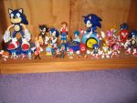 My Sonic Figures by sonicrules100