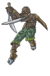 _pixel_ TwoSword fighter_ by di0xygen