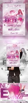 Young and Free Party Flyer by KoolGfx