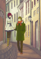Height Difference by Jessicutie