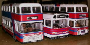 3 National Welsh Buses in Express livery by walesrallyart