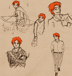 Scotland sketch dump by frecklesmelody