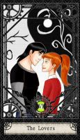 Ben 10 Tarot- 6. The Lovers by CheshireP