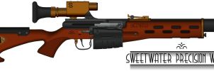 Sweetwater 1930's Weaponry Contest Entry by Shockwave9001