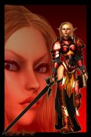 Blood Elf by MongoBongoArt