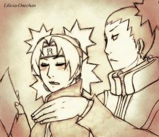 ShikaTema Paperwork - Sketch by Lilicia-Onechan