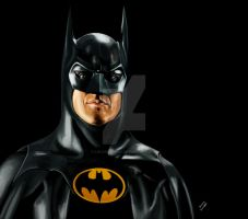 Batman (Michael Keaton) by LucasCordda