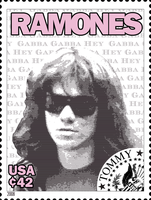 Ramones Stamps: Tommy by exfish