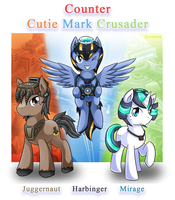 [Concept] CCMC : Counter Cutie Mark Crusader by vavacung