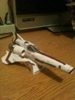 BSG Viper Papercraft by homestah