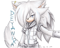 :AT: Deyanira The Wolf by UnknownSpy