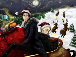 Doctor Who Christmas by akane3196